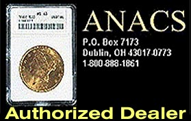 Authorized ANACS Dealer